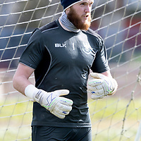 St Johnstone keeper Zander Clark back fit and in training ahead of tomorrow nights re-arranged game against St Mirren.<br />