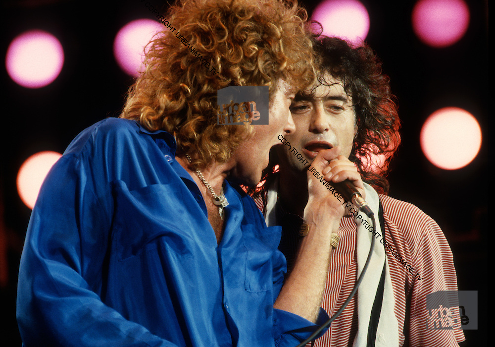 Robert Plant - Led Zeppelin - Live Aid USA - 1985