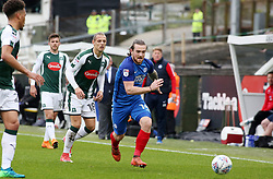 Jack Marriott of Peterborough United in action against Plymouth Argyle - Mandatory by-line: Joe Dent/JMP - 07/04/2018 - FOOTBALL - Home Park - Plymouth, England - Plymouth Argyle v Peterborough United - Sky Bet League One
