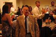 "Wil St. Amand was named ""Citizen of the Year"" during the Chamber of Commerce's annual banquet at the Oxford Conference Center in Oxford, Miss. on Thursday, June 6, 2013. Fred Laurenzo was also named co-citizen of the year."