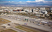 Aerial over Orange County  John Wayne Airport