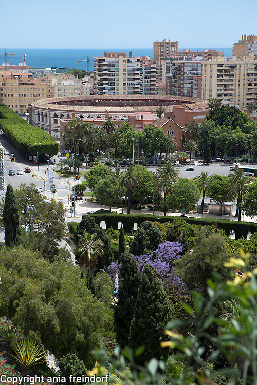 May in Malaga, Spain, Tourism, Plaza de toros de Málaga, bullring. There is a famous August Festival and the final bullfight of the season is held in the month of September in honour of Our Lady of Victory, the patron saint of the Roman Catholic Diocese of Málaga.