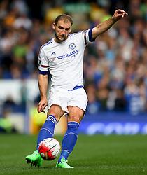 Branislav Ivanovic of Chelsea   - Mandatory byline: Matt McNulty/JMP - 07966386802 - 12/09/2015 - FOOTBALL - Goodison Park -Everton,England - Everton v Chelsea - Barclays Premier League