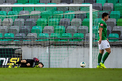 uring football match between NK Olimpija and NK Rudar Velenje in 2nd Round of Slovenian Cup 2019/20, on August 15, 2019 in Arena Stozive, Ljubljana, Slovenia. Photo by Grega Valancic / Sportida