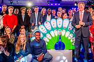 TILBURG - King Willem-Alexander opens the new academic year of MBO at ROC Tilburg. ROBIN UTRECHT *