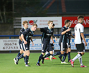 Josh Skelly  in congratualted after his two second half goals had earned Dundee a point against St Johnstone - Dundee v St Johnstone - SPFL development league <br /> <br />  - &copy; David Young - www.davidyoungphoto.co.uk - email: davidyoungphoto@gmail.com