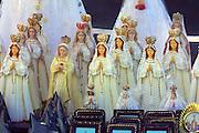 Nuestra Señora del Valle (Virgin Mary) religious souvenir statuettes.