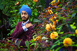 Post-exam shoot with Gurdas at The Exotic Garden in Norwich