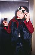 Ken in Sungalsses, Scatch, London, 1997