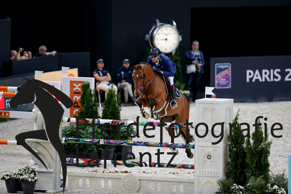 ROZIER Philippe (FRA), Cristallo A LM<br /> Paris - FEI World Cup Finals 2018<br /> Grand Prix / Grosser Preis<br /> www.sportfotos-lafrentz.de/Stefan Lafrentz<br /> 15. April 2018