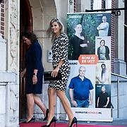 NLD/Utrecht/20190909 - Máxima aanwezig bij congres 'Kom uit je schuld' Koningin Maxima komt aan bij het congres