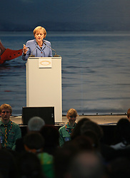 14.05.2010, Messe, Muenchen, GER, Oekt , Vortrag Angela Merkel, im Bild Angela Merkel (Bundeskanzlerin) , EXPA Pictures © 2010, PhotoCredit: EXPA/ nph/  Straubmeier / SPORTIDA PHOTO AGENCY