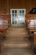 Ehemalige Rinderversteigerungshalle / Markthalle des Burgenl&auml;ndischen Fleckviehzuchtverbandes, Oberwart<br /> Errichtet 1952<br /> Planung: Johann Obermayr, Schwanenstadt