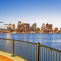 Last night sunset photography of Boston is available as museum quality photography prints, canvas prints, acrylic prints or metal prints. Prints may be framed and matted to the individual liking and decorating needs:<br />