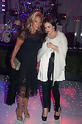 DENISE RICH; ILONA SCHACTER, Gabrielle's Gala 2013 in aid of  Gabrielle's Angels Foundation UK , Battersea Power station. London. 2 May 2013.