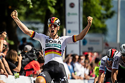 Pascal Ackermann (GER) of Bora - Hansgrohe winning the the 1st Stage of 26th Tour of Slovenia 2019 cycling race between Ljubljana and Rogaska Slatina (171 km), on June 19, 2019 in  Slovenia. Photo by Vid Ponikvar / Sportida
