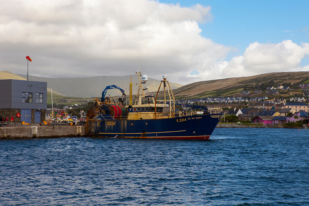 Fishing trawler Cu na Mara in Dingle, Kerry, Ireland