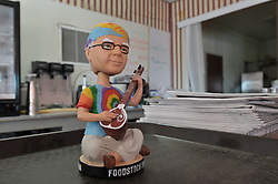 Foodstock Bobblehead at the Cafe next to Amargosa Opera House and Hotel, Death Valley Junction California