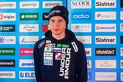 Anze Lanisek of Nordic team at media day of Ski Association of Slovenia before new winter season 2018/19, on October 4, 2018 in Ski resort Pohorje, Maribor, Slovenia. Photo by Grega Valancic / Sportida