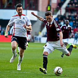 Hearts v Falkirk | Scottish Championship | 24 January 2015