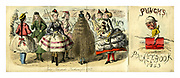 Punch's Pocket Book 1863. Some Seaside Fashions for 1863.