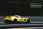 June 12-17, 2018: 24 hours of Le Mans. 63 Corvette Racing, Corvette C7.R, Jan Magnussen, Antonio Garcia, Mike Rockenfeller