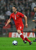 Photo: Tony Oudot/Richard Lane Photography.  England v Czech Republic. International match. 20/08/2008. <br /> Jan Polak of Czech Republic .