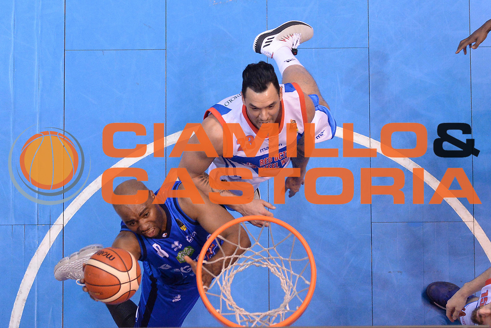 Marcus Landry<br /> Red October Cantu - Germani Leonessa Basket Brescia<br /> LegaBasket Serie A 2017/2018<br /> Desio, 04/12/2017<br /> Foto M.Ceretti / Ciamillo - Castoria
