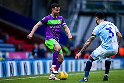 Bailey Wright of Bristol City takes on Derrick Williams of Blackburn Rovers - Mandatory by-line: Robbie Stephenson/JMP - 09/02/2019 - FOOTBALL - Ewood Park - Blackburn, England - Blackburn Rovers v Bristol City - Sky Bet Championship
