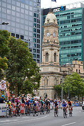 Break of the day during Stage 4 of 2020 Santos Women's Tour Down Under, a 42.5 km road race in Adelaide, Australia on January 19, 2020. Photo by Sean Robinson/velofocus.com