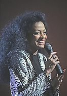 Diana Ross at the Martin Luther King Jr Gala at the Kennedy Center for the Performing Arts in February 1986..Photograph by Dennis Brack bb32