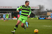 Forest Green Rovers Lee Collins(5) on the ball during the EFL Sky Bet League 2 match between Forest Green Rovers and Coventry City at the New Lawn, Forest Green, United Kingdom on 3 February 2018. Picture by Shane Healey.