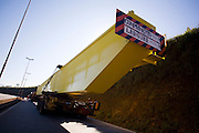 Itatiaiucu_MG, Brasil...Caminhao na rodovia in Itatiaiucu...The truck in the motorway in Itatiaucu...Foto: LEO DRUMOND / NITRO