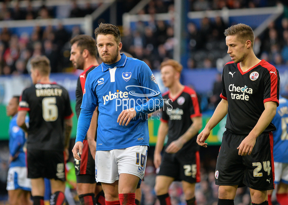 Portsmouth striker Marc McNulty during the Sky Bet League 2 match between Portsmouth and Crawley Town at Fratton Park, Portsmouth, England on 2 January 2016. Photo by Adam Rivers.