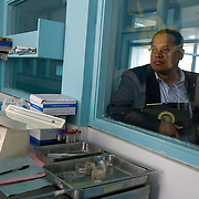 "US Congressman Keith Ellison visits Pumwani materinity hospital. According to Dr.Charles Wanyoni, medical superintendent of the hospital, ""We are probably the busiest maternal health hospital on the continent."" So far in 2009, there have been 11,000 deliveries at the hospital and seven deaths. They deliver approximately 80-100 babies a day."