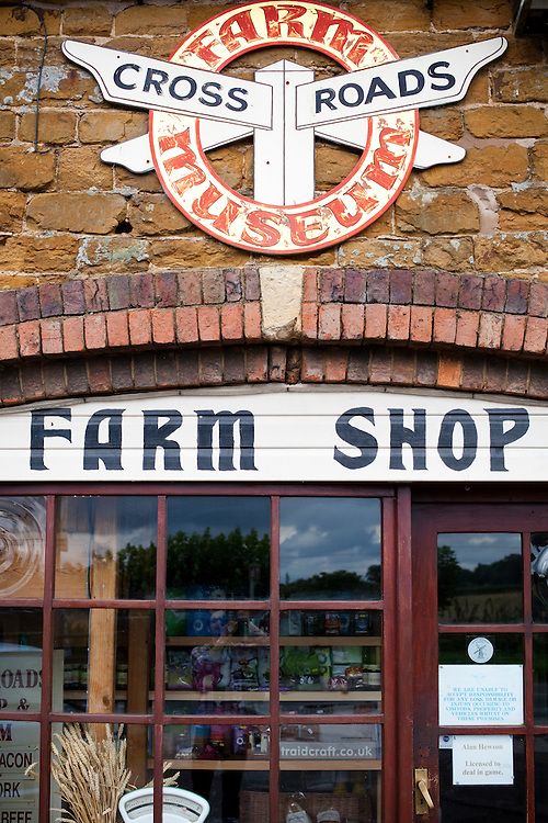 The Crossroads Farm shop, Leicestershire