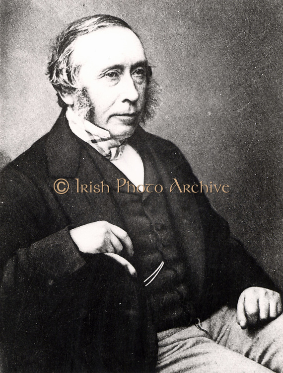 James Syme (1799-1870) Scottish surgeon, born in Edinburgh.  Father-in-law of Joseph Lister. from 'Lord Lister' by Rickman John Goodlee (London, 1917).