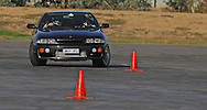 Antony Ivancic.Nissan Skyline R33GTST.SAU Deca Motorkhana sponsored by Micolour.Shepparton, Victoria .23rd of May 2009.(C) Joel Strickland Photographics.Use information: This image is intended for Editorial use only (e.g. news or commentary, print or electronic). Any commercial or promotional use requires additional clearance.