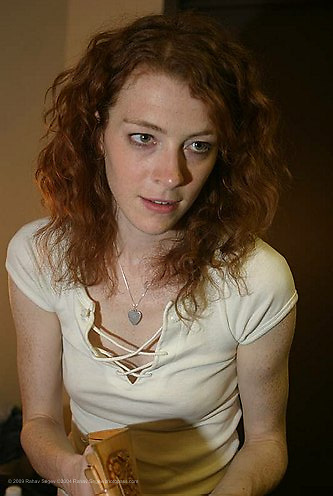 Melissa Auf der Maur performing at Hammerstein Ballroom on June 1, 2004...©2004 Rahav Segev /Photopass.com..