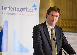 Better Together London.<br /> Danny Alexander, MP for Inverness and Chief Secretary to the Treasury.<br /> The launch event of Better Together London,  the cross party campaign for a strong Scotland in the United Kingdom.<br /> London, United Kingdom<br /> Wednesday, 5th June 2013<br /> Picture by Anthony Upton / i-Images
