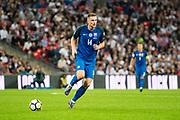 Slovakia (14) Milan SKRINIAR during the FIFA World Cup Qualifier match between England and Slovakia at Wembley Stadium, London, England on 4 September 2017. Photo by Sebastian Frej.