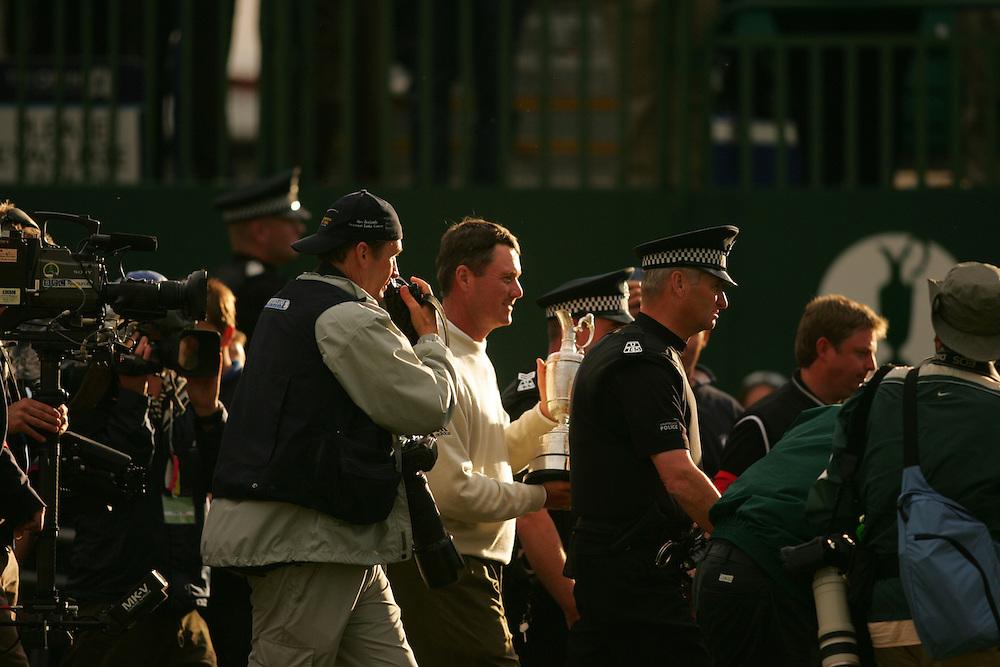 Todd Hamilton..2004 Open Championship.( British Open ).Royal Troon GC.Troon, Scotland UK.Final Round.Sunday, July 18 2004..photograph by Darren Carroll