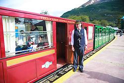 Estação do Trem do Fim do Mundo na Rodovia Nacional número 3, em Ushuaia, Patagônia Argentina. FOTO: Jefferson Bernardes/ Agência Preview