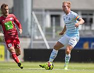 Jonas Henriksen (FC Helsingør) under træningskampen mellem Lyngby Boldklub og FC Helsingør den 3. juli 2019 på Lyngby Stadion (Foto: Claus Birch)
