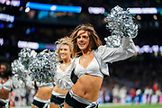 Oakland Raiders Cheerleaders during the International Series match between Oakland Raiders and Chicago Bears at Tottenham Hotspur Stadium, London, United Kingdom on 6 October 2019.