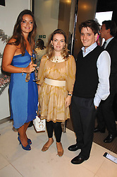 Left to right, LADY NATASHA RUFUS-ISAACS and CHARLES & LADY SYBILLA HART at a party to launch jeweller Boodles new store at 178 New Bond Street, London W1 on 26th September 2007.<br />