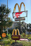 Nov. 6, 2006, McDonalds in New Orleans destroyed by Hurricane Katrina