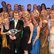 NLD/Utrecht/20070928 - Premiere film Goud over Nederlands dames hockeyelftal, groepsfoto