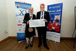 Wooden Spoon Devon receive £8,600 from B Murray at the annual Exeter Chiefs Foundation Christmas Dinner at Sandy Park - Ryan Hiscott/JMP - 07/12/2018 - RUGBY - Sandy Park - Exeter, England - Exeter Chiefs Foundation Christmas Dinner with David Flatman