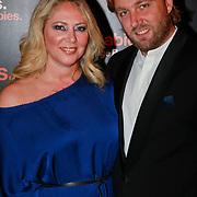 NLD/Noordwijk/20110625 - Orange Babies Gala 2011, Fiona Hering en partner Giel ten Bosch